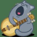 cat banjo
