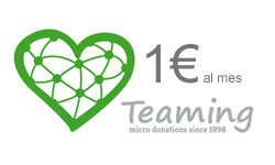 Unete a Teaming por 1 € al mes